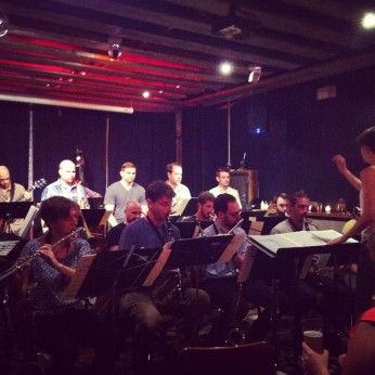 Webber Morris Big Band at Threes Brewing